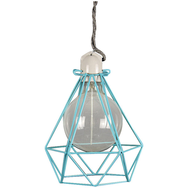 Diamond Pendant Modern Dandy - Oscar Wilde - Industrial Lighting Studio - 9