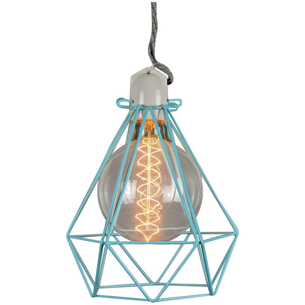 Diamond Pendant Modern Dandy - Oscar Wilde - Industrial Lighting Studio - 10