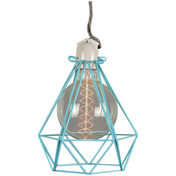 Diamond Pendant Modern Dandy - Oscar Wilde - Industrial Lighting Studio - 11