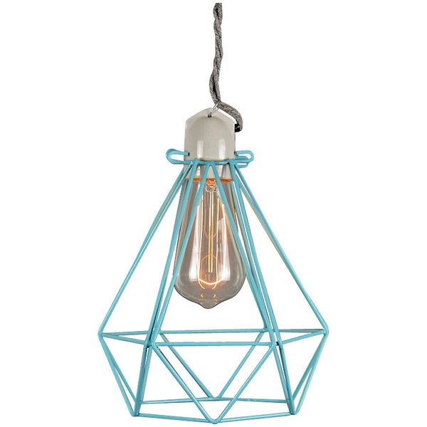 Diamond Pendant Modern Dandy - Oscar Wilde - Industrial Lighting Studio - 12