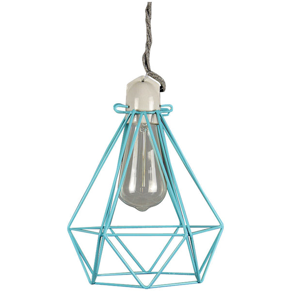 Diamond Pendant Modern Dandy - Oscar Wilde - Industrial Lighting Studio - 13