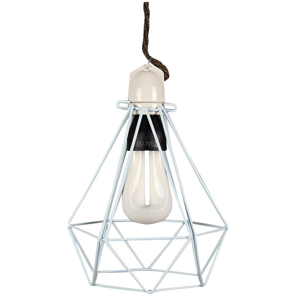 Diamond Pendant Modern Dandy - Lord Byron - Industrial Lighting Studio - 1