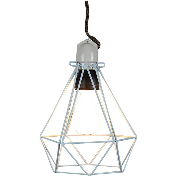 Diamond Pendant Modern Dandy - Lord Byron - Industrial Lighting Studio - 3