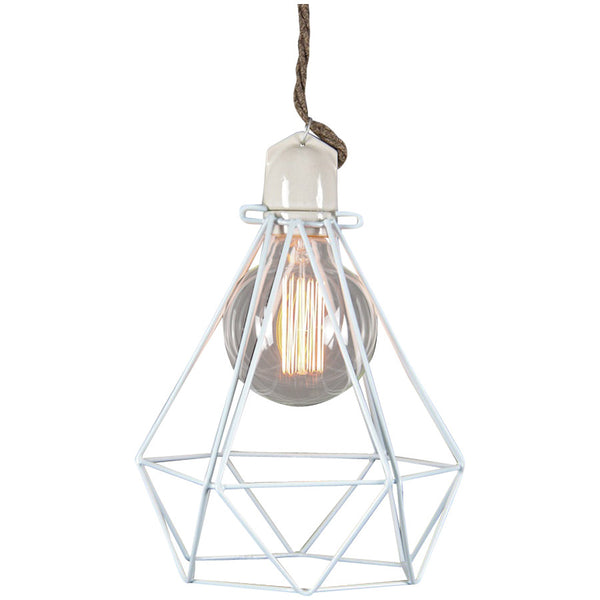 Diamond Pendant Modern Dandy - Lord Byron - Industrial Lighting Studio - 4