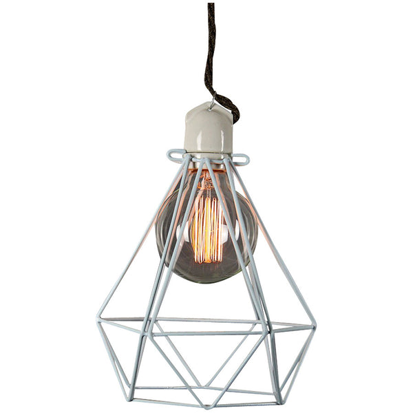 Diamond Pendant Modern Dandy - Lord Byron - Industrial Lighting Studio - 5