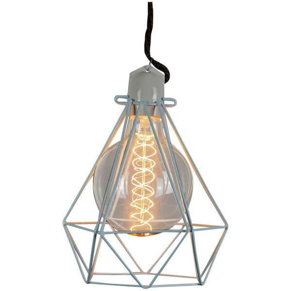 Diamond Pendant Modern Dandy - Lord Byron - Industrial Lighting Studio - 7