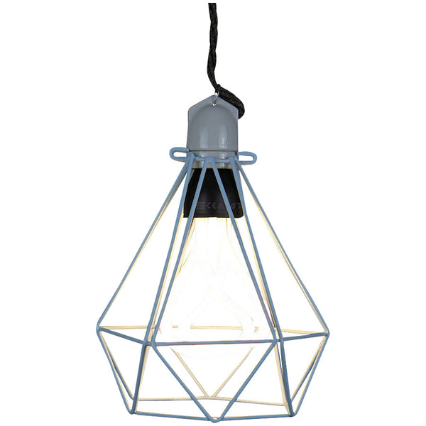 Diamond Pendant Modern Dandy - Lord Byron - Industrial Lighting Studio - 10