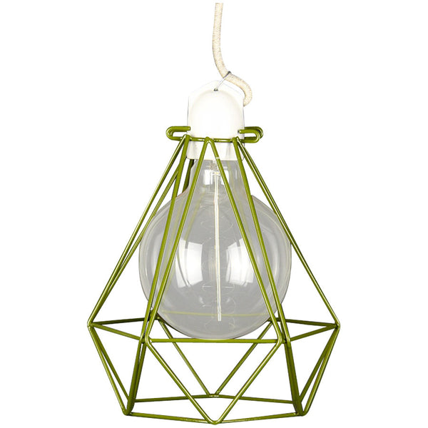 Diamond Pendant Modern Dandy - Quentin Crisp - Industrial Lighting Studio - 1
