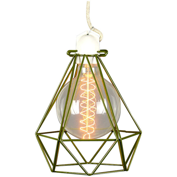 Diamond Pendant Modern Dandy - Quentin Crisp - Industrial Lighting Studio - 2