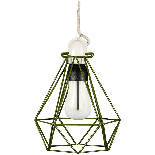 Diamond Pendant Modern Dandy - Quentin Crisp - Industrial Lighting Studio - 6