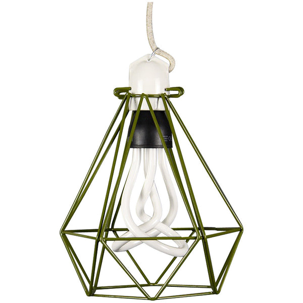 Diamond Pendant Modern Dandy - Quentin Crisp - Industrial Lighting Studio - 8