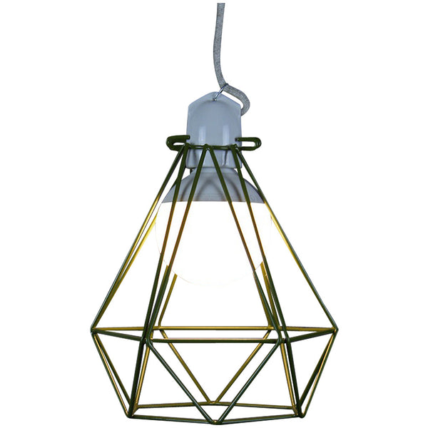 Diamond Pendant Modern Dandy - Quentin Crisp - Industrial Lighting Studio - 10