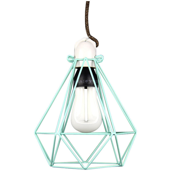 Diamond Pendant Modern Dandy - Sebastian Honey - Industrial Lighting Studio - 1