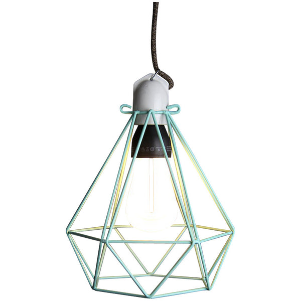 Diamond Pendant Modern Dandy - Sebastian Honey - Industrial Lighting Studio - 5