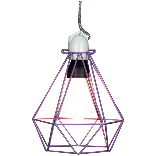 Diamond Pendant Modern Dandy - Beau Nash - Industrial Lighting Studio - 2