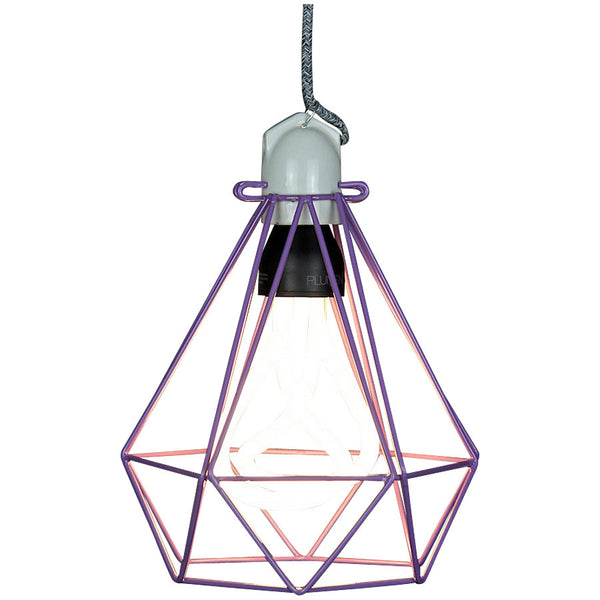 Diamond Pendant Modern Dandy - Beau Nash - Industrial Lighting Studio - 3