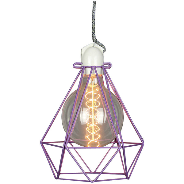 Diamond Pendant Modern Dandy - Beau Nash - Industrial Lighting Studio - 6