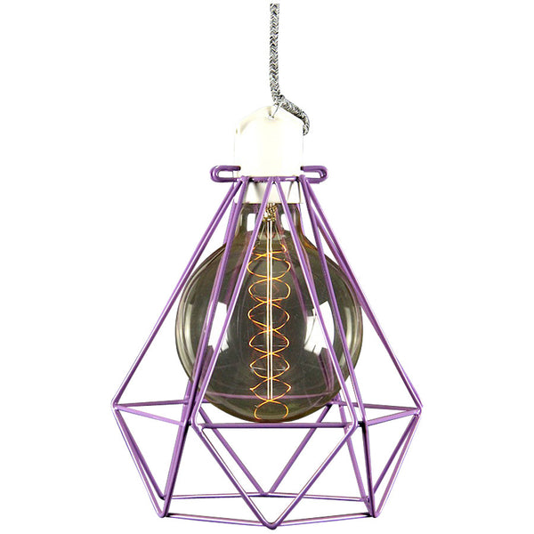Diamond Pendant Modern Dandy - Beau Nash - Industrial Lighting Studio - 7