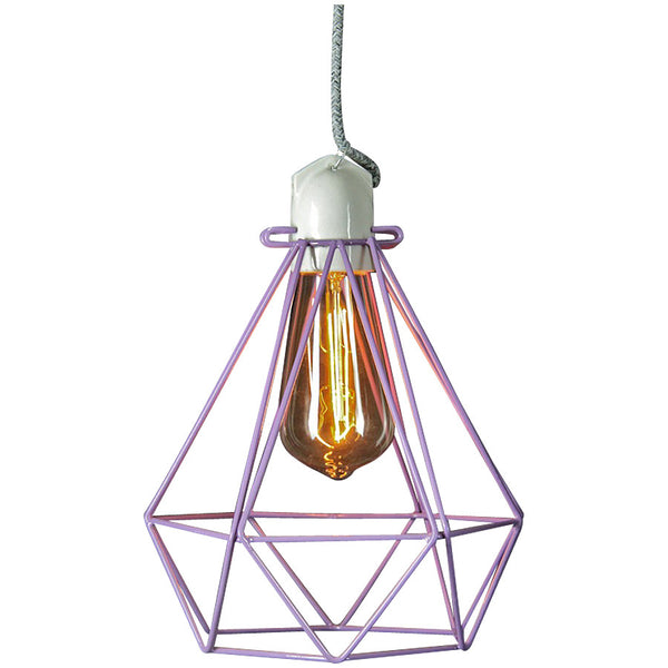 Diamond Pendant Modern Dandy - Beau Nash - Industrial Lighting Studio - 9