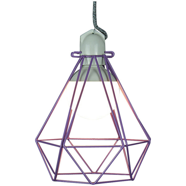 Diamond Pendant Modern Dandy - Beau Nash - Industrial Lighting Studio - 10