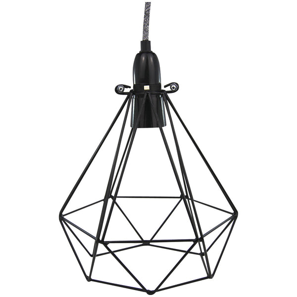 Diamond Pendant - Diamond Blanket - Industrial Lighting Studio - 1