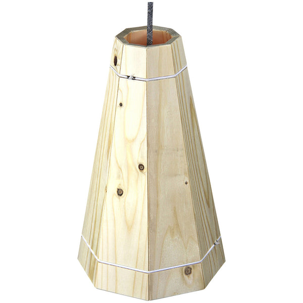 Pallet Pendant Light - Large - Natural - Industrial Lighting Studio
