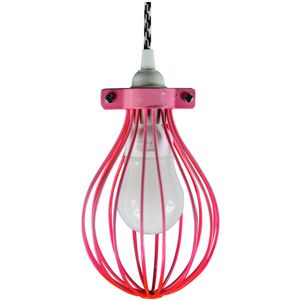 Balloon Pendant - Summer Series Pink - Industrial Lighting Studio - 1