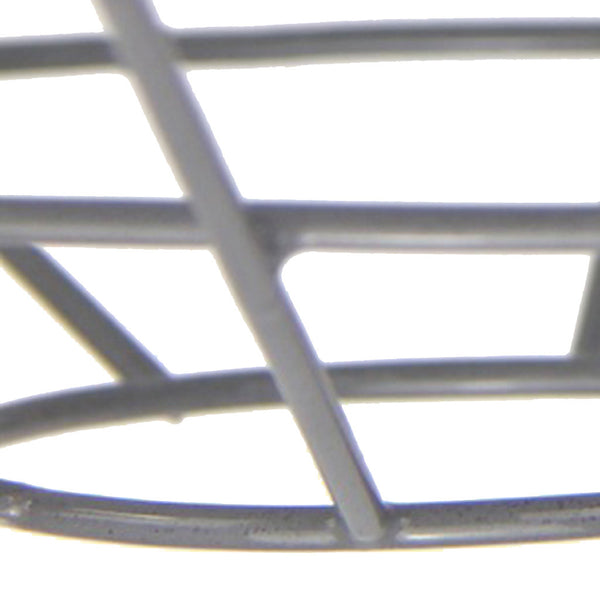 Cage Tennis Shade Pendant - Green with grey - Industrial Lighting Studio - 2