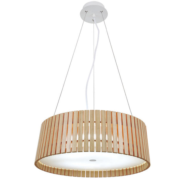 Citilux Exquisite Wooden Pendant Lights - 35 cm - Industrial Lighting Studio