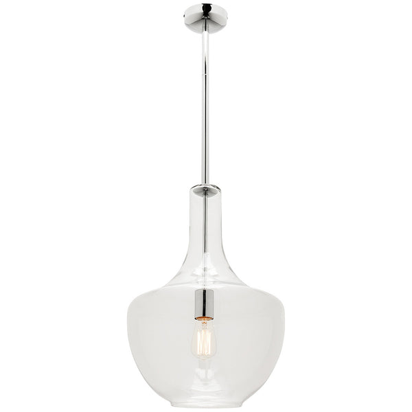 Fontaine Pendant Light - Large - Chrome - Industrial Lighting Studio
