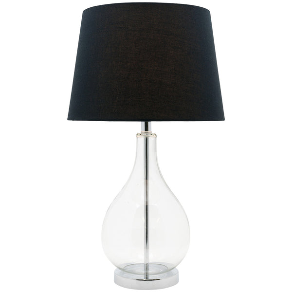 Gina Table Lamp - Black - Industrial Lighting Studio