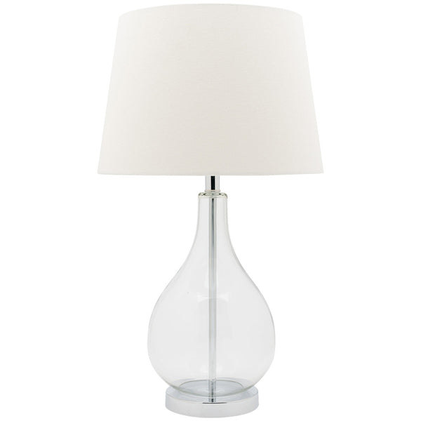 Gina Table Lamp - White - Industrial Lighting Studio