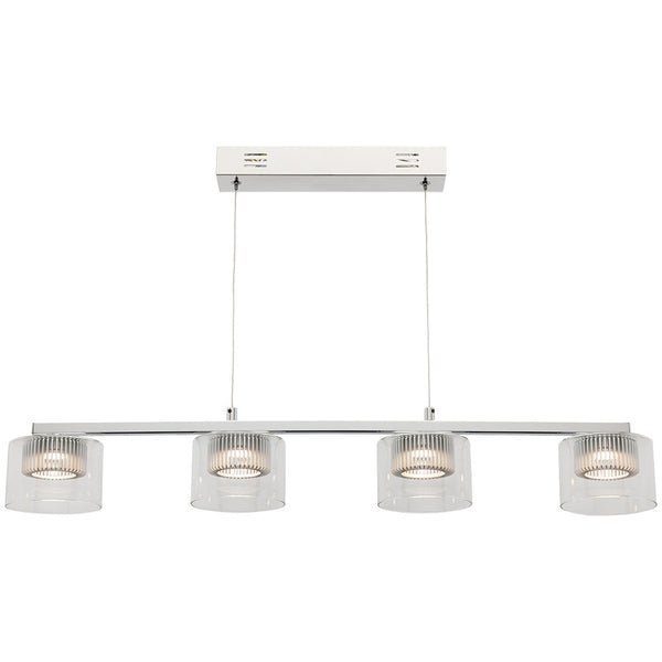 Haiger 4 Bulb Pendant Light - Industrial Lighting Studio