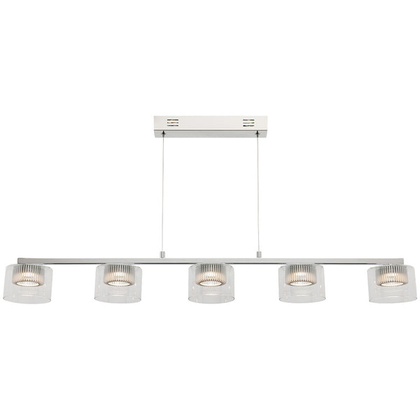 Haiger 5 Bulb Pendant Light - Industrial Lighting Studio