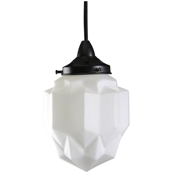 Art Deco Modern Pendant Light - Black - Industrial Lighting Studio - 1