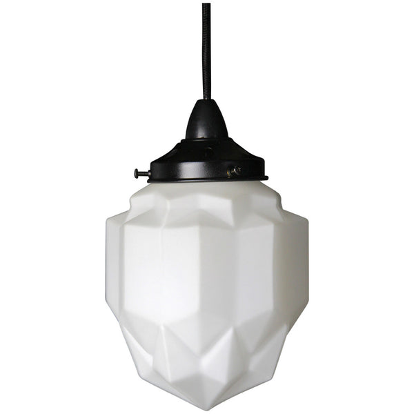 Art Deco Modern Pendant Light - Black - Industrial Lighting Studio - 2