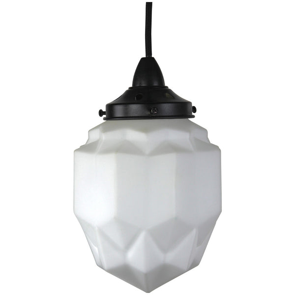 Art Deco Modern Pendant Light - Black - Industrial Lighting Studio - 3