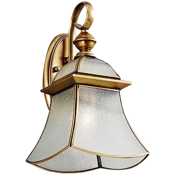 Citilux Kingsford Brass Wall Light - Industrial Lighting Studio