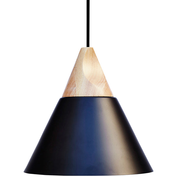Elias Pendant Light - Black - Industrial Lighting Studio