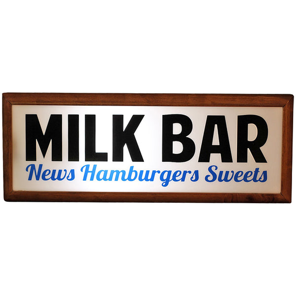 Lightbox Table Lamp - Milk Bar - Industrial Lighting Studio - 1