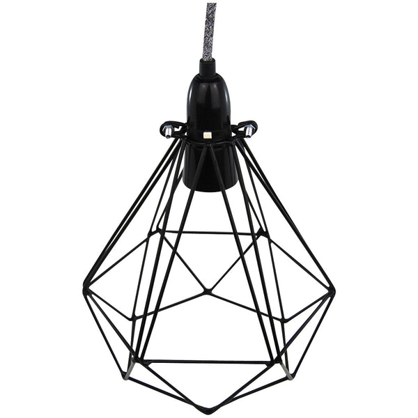 Diamond Pendant - Diamond Blanket - Industrial Lighting Studio - 4