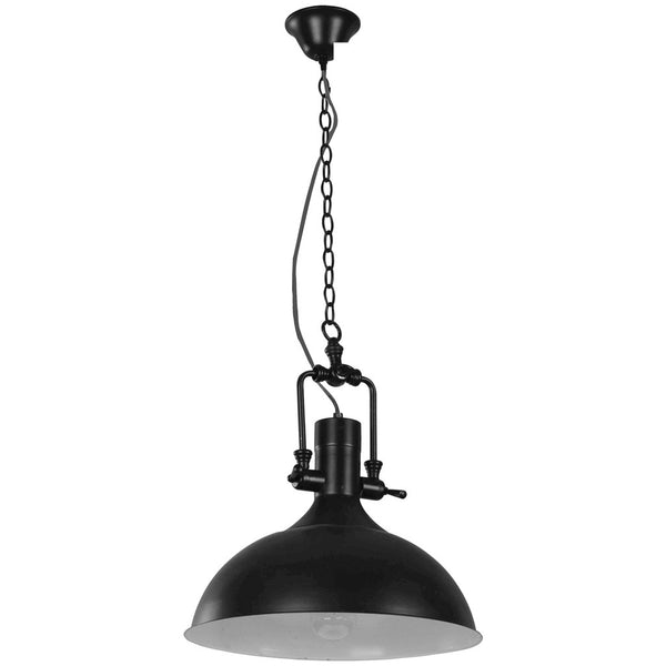 Cottage Pendant Lamp - Black - Industrial Lighting Studio