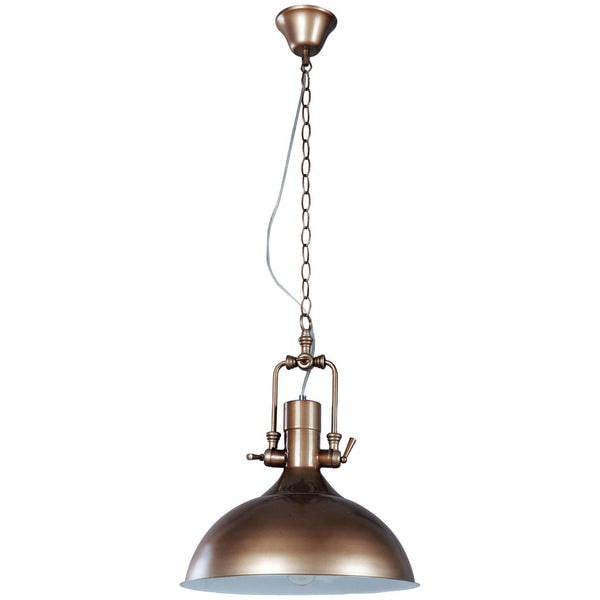 Cottage Pendant Lamp - Brown - Industrial Lighting Studio