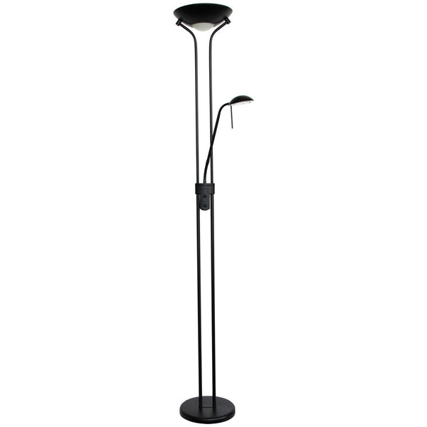 Dexter Floor Lamp - Black - Industrial Lighting Studio