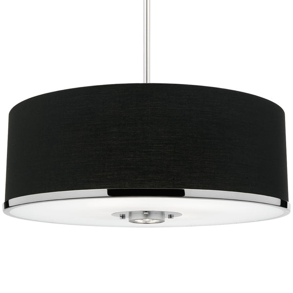 Radisson 4 Bulb Pendant Light - Black - Industrial Lighting Studio