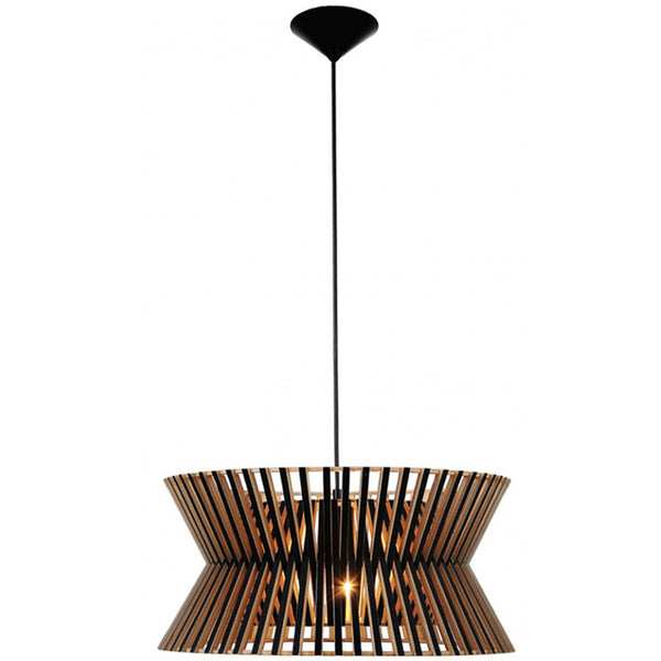 Citilux Replica Wood Kontro 6000 Pendant Lamp - Premium version - Black - Industrial Lighting Studio
