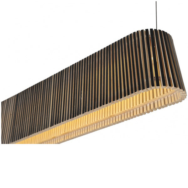 Citilux Replica Wood Owalo 7000 Pendant Lamp - Premium version - Black - Industrial Lighting Studio