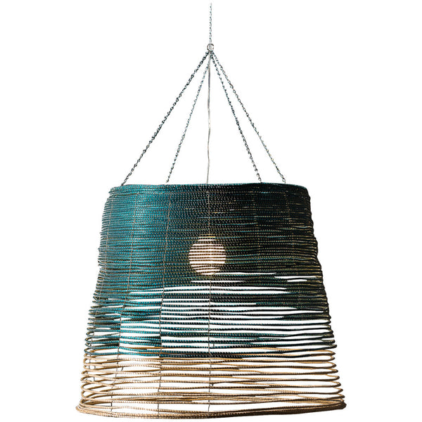 Sala Verde Noothera Pendant - Turquoise and Natural - Industrial Lighting Studio
