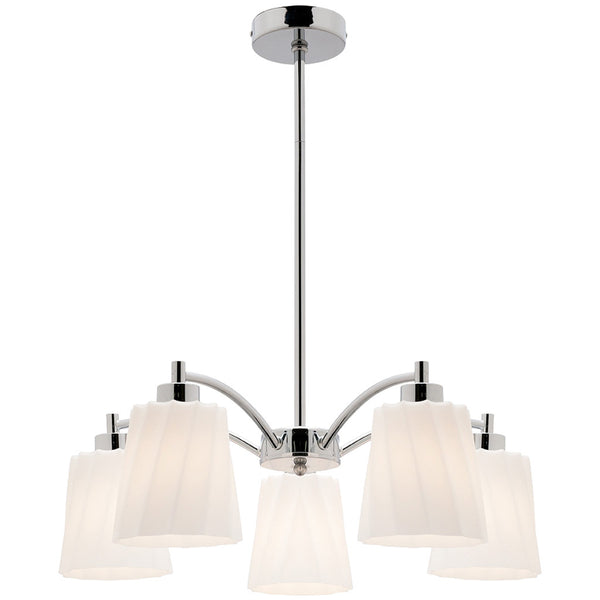 Tyson 5 Lamp Pendant Chandelier - Industrial Lighting Studio