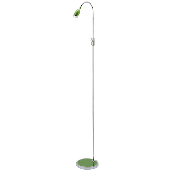 Solina Led Floor Lamp - Green - Industrial Lighting Studio